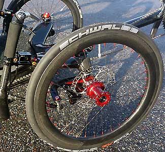 Carbontrikes aero frontwheel