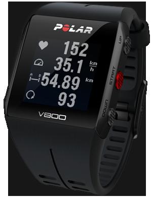 Polar v800 black intro hero 4